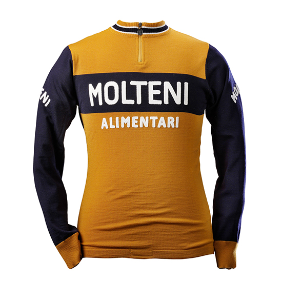 Eddy Merckx Molteni Team 1974 Long Sleeve Jersey