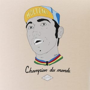 Merckx cannibale t-shirt Molteni ringer Cycling