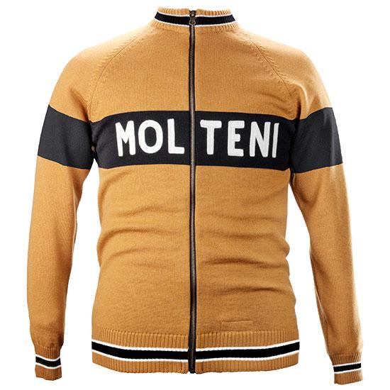 Merckx Molteni cycling koerstrui blouson maillot
