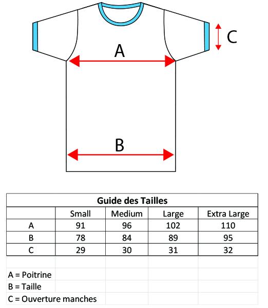 Size Tees FR