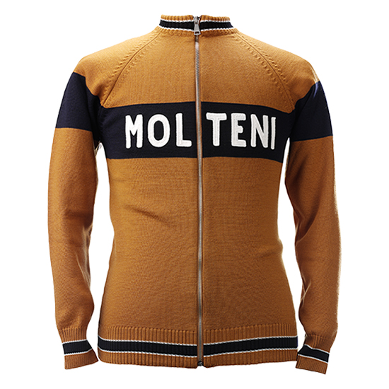Molteni track top Eddy merckx cycling team
