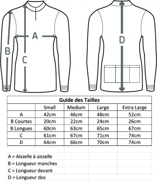 size guide FR