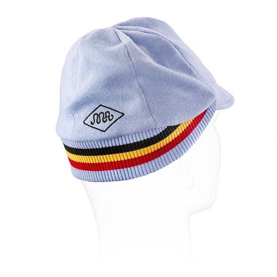 belgium cycling cap back