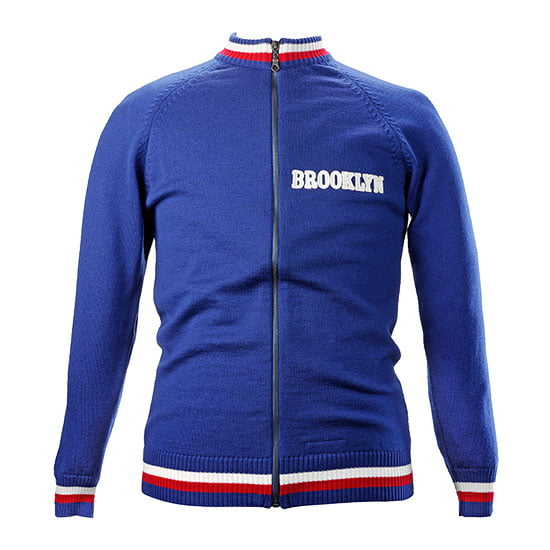 Brooklyn Merino Wool track top