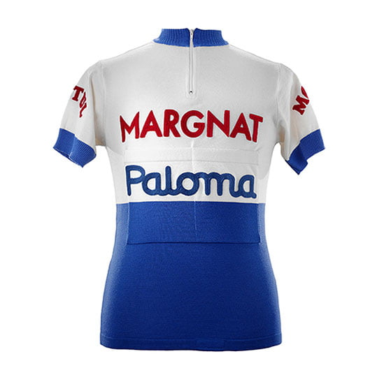 Bahamontes Margnat Paloma 1964 maillot cycliste manches courtes