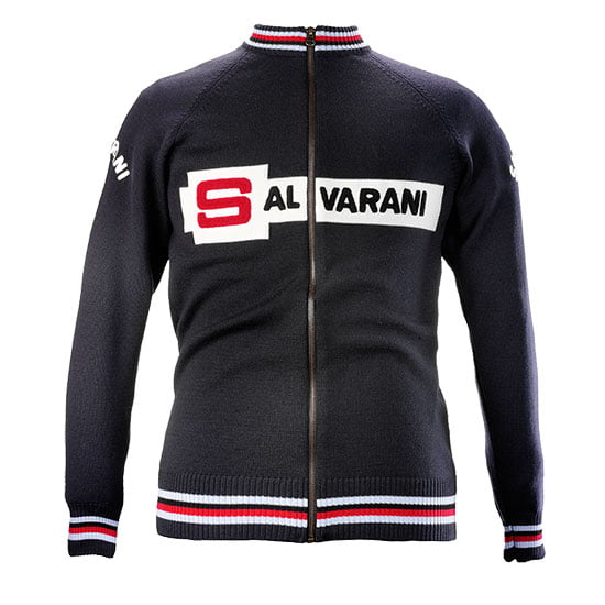 Salvarani Merino Wool track top