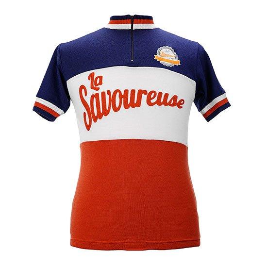 La Savoureuse custom cycling jersey