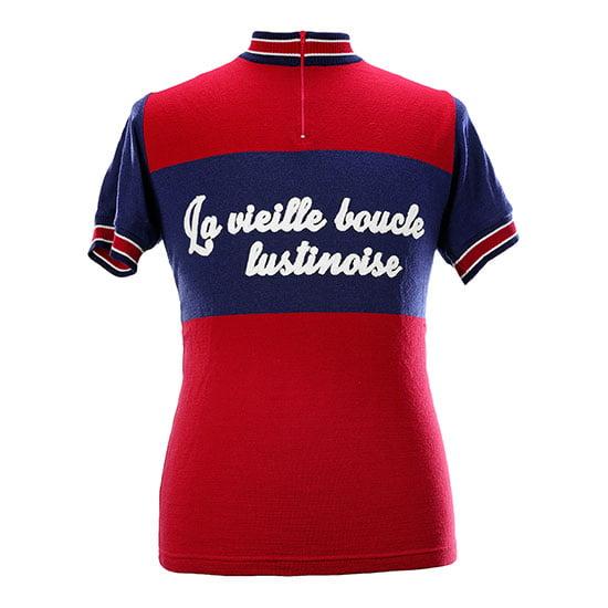 'La Vieille Boucle Lustinoise' gepersonnaliseerde koerstrui