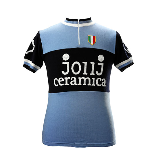 JollJ Ceramica Team 1976 short sleeve cycling jersey