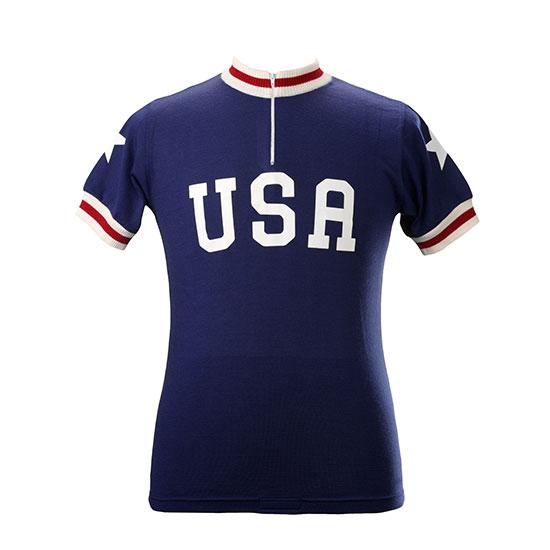 USA Team 1978 Maillot cycliste manches courtes