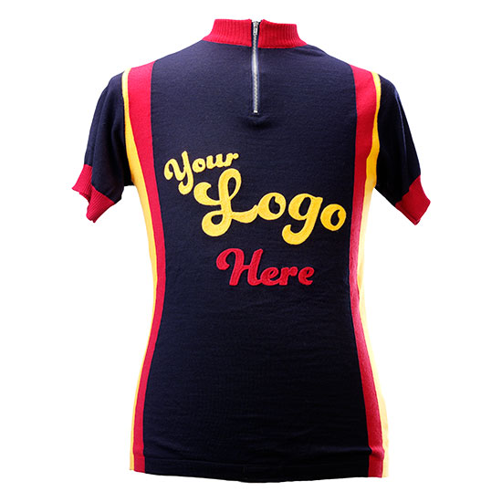 maillot cycliste vintage personnalisable