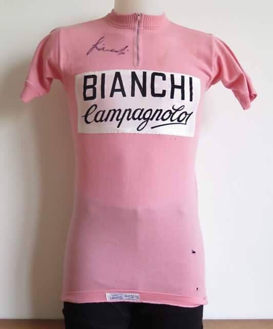 Salvarani Bianchi Gimondi jersey rosa giro