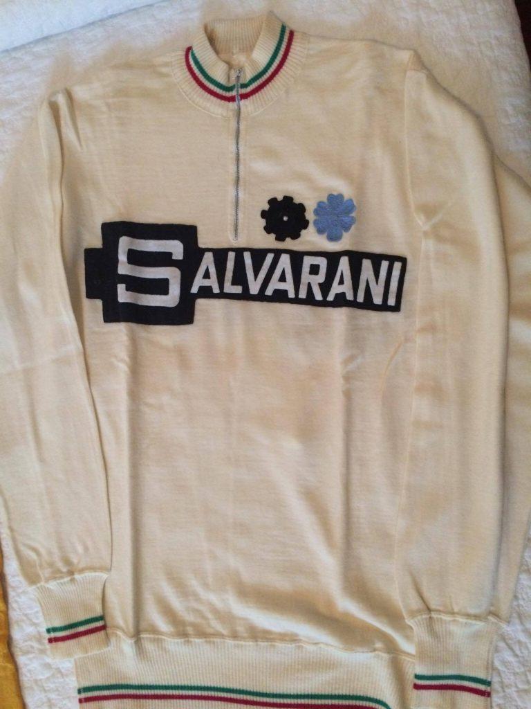 Salvarani Gimondi jersey track trop trainer