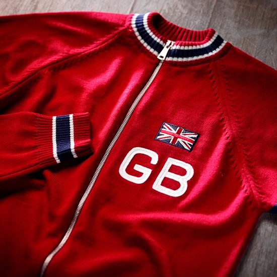 GB cycling team jersey bradley wiggins Tom simpson
