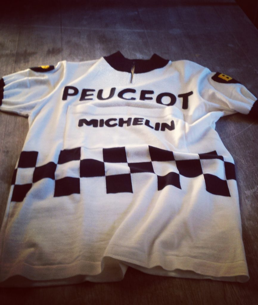 Peugeot cycling jersey Simpson merckx