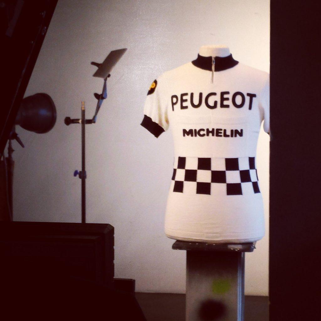 Peugeot maillot cycliste laine