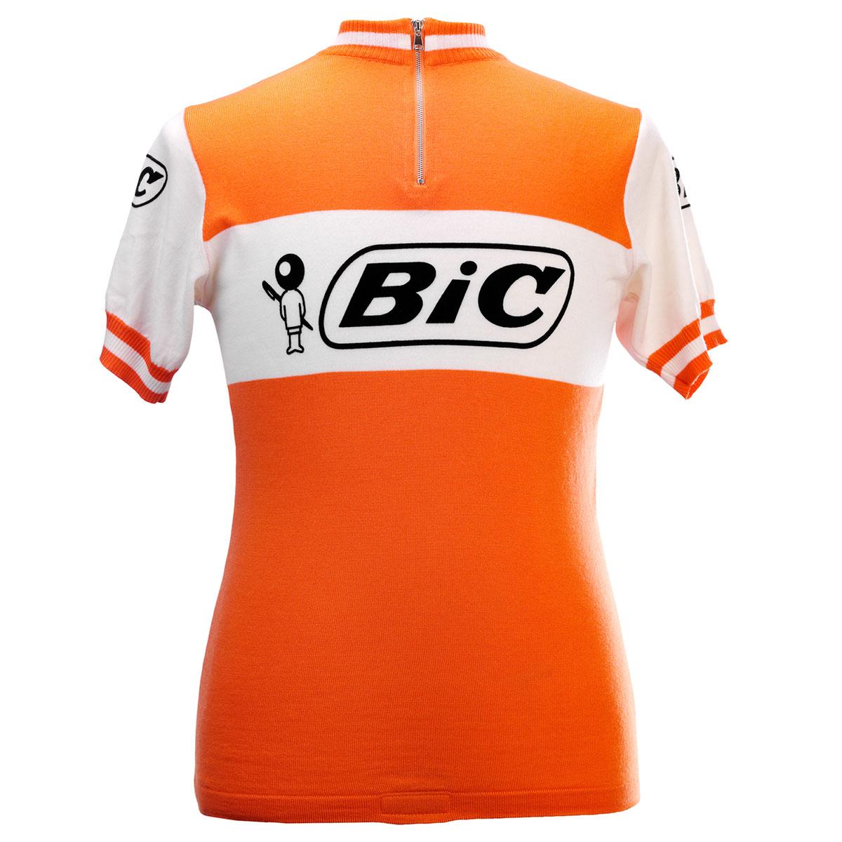 BIC Vélo Jersey Rétro Vintage Bikes Shirt Taille XL Cool Bike Jersey cycling shirt