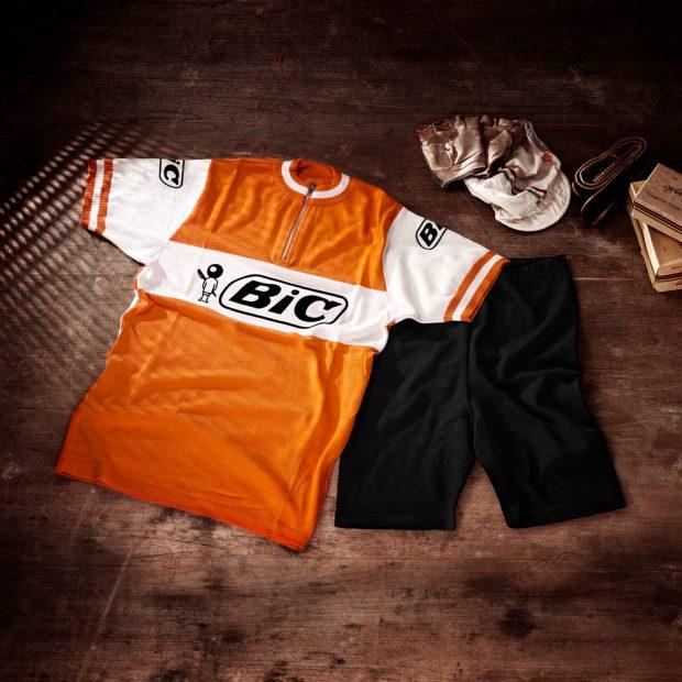 Ensemble: cuissard + maillot équipe BIC 1973