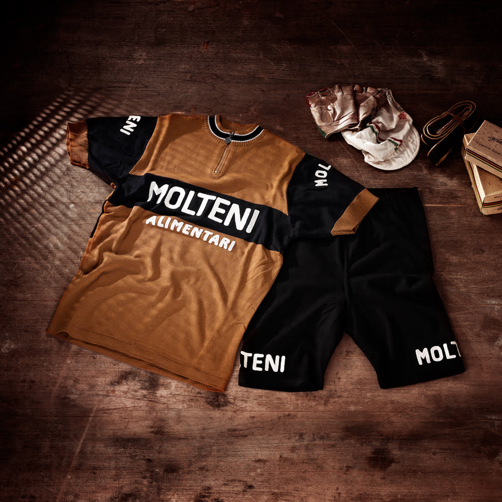 Magliamo - Merckx Molteni 1974 Cycling Jersey and Short Merino Wool 7ec3c64e9