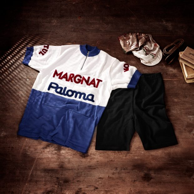 Ensemble: cuissard + maillot équipe Margnat Paloma 1964