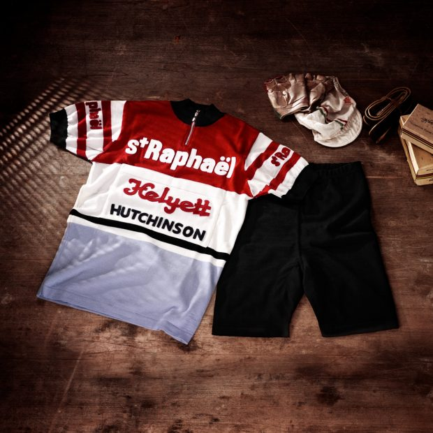 Set short + jersey Saint-Raphael Team 1962