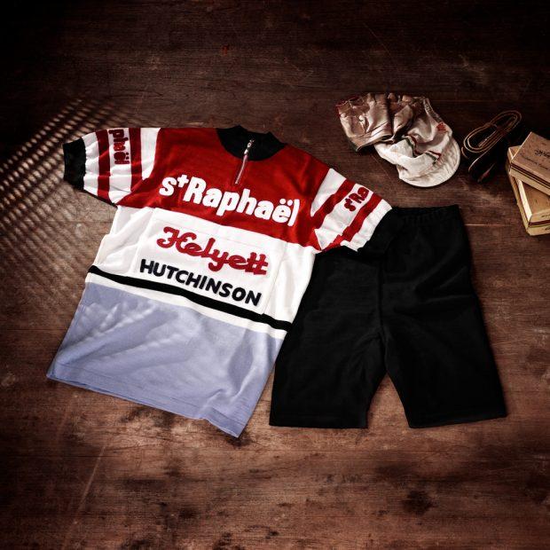 Ensemble: cuissard + maillot équipe St-Raphael 1962