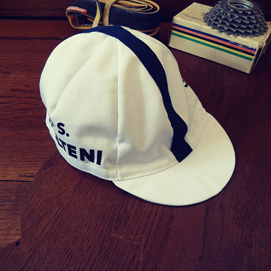Molteni team 60ies cycling cap