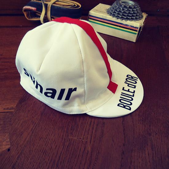 Boule d'or équipe cycliste casquette Freddy Maertens Roger De Vlaeminck
