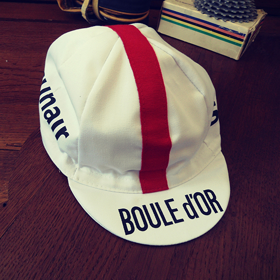 Boule d'or cycling team cap Freddy Maertens Roger De Vlaeminck