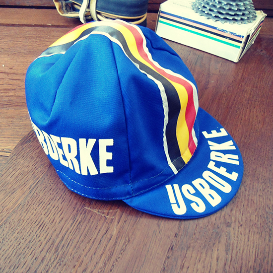 Ijsboerke team cycling cap