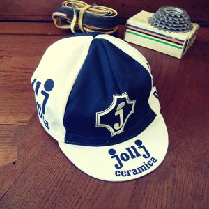 JollJ cycling team cap Baronchelli Battaglin