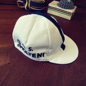 Molteni team cycling cap 60ies