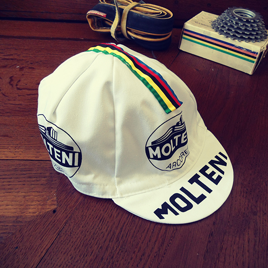 Molteni team 70ies cycling cap