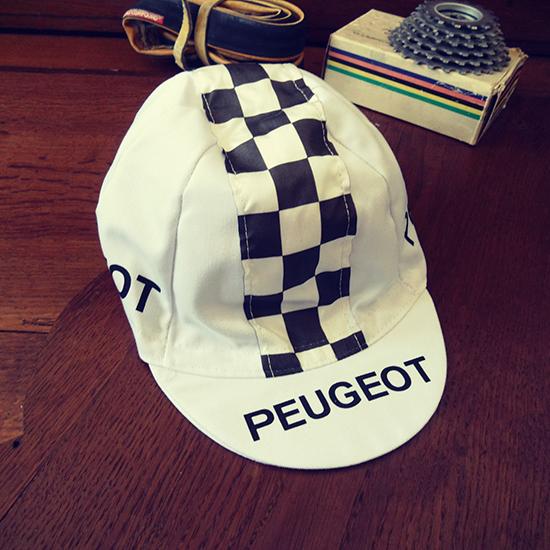 Peugeot cycling team cap Tom simpson Merckx Thevenet