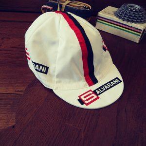 Salvarani équipe cycliste casquette felice gimondi