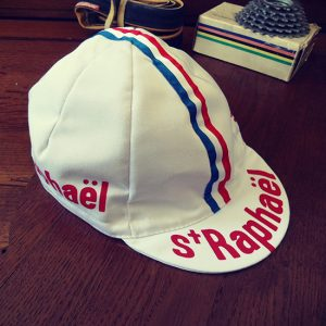 St-Raphael cycling team cap Anquetil