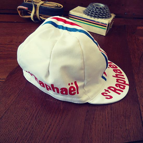 St-Raphael cycling team cap Anquetil