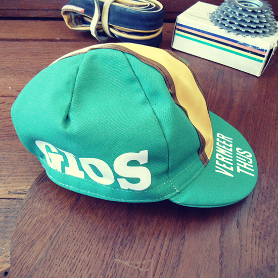 Vermeer-Thijs team cycling cap