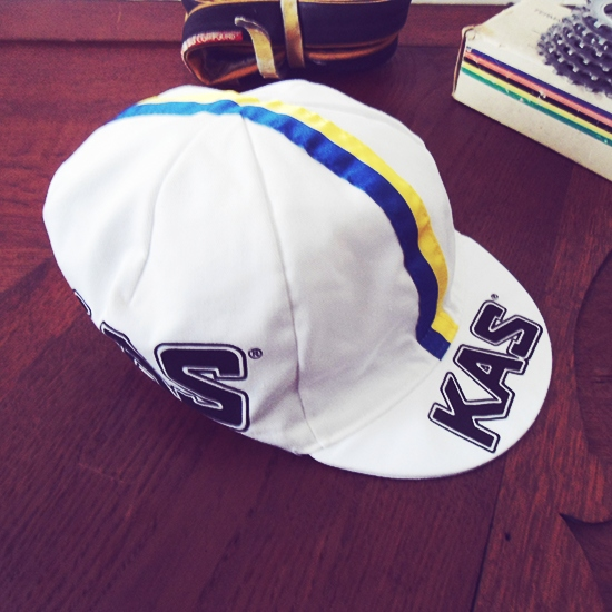 KAS Team cycling cap