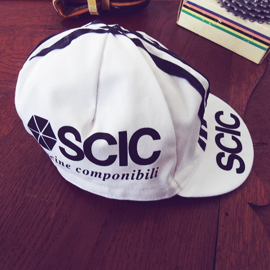 SCIC team cycling cap