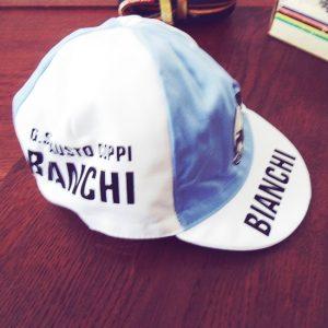 Bianchi fausto coppi cycling cap