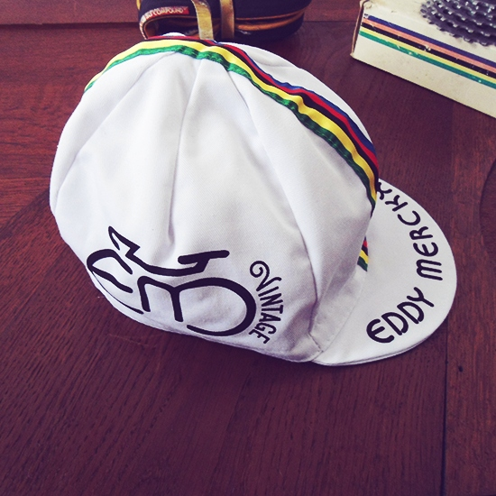 Eddy Merckx vintage cycling cap
