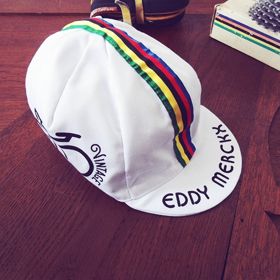 Eddy Merckx cycling cap vintage