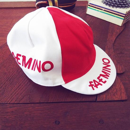 Faemino Faema Eddy Merckx casquette cycliste