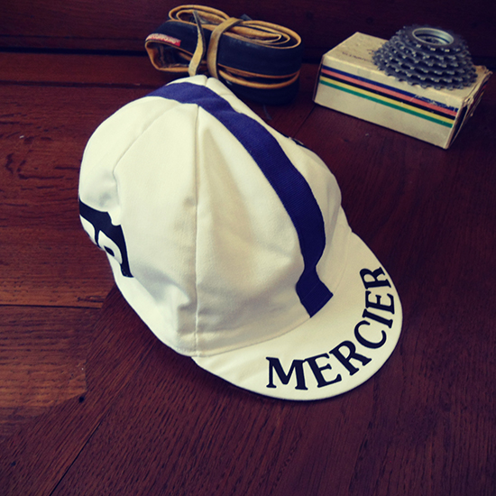 Mercier BP cycling cap
