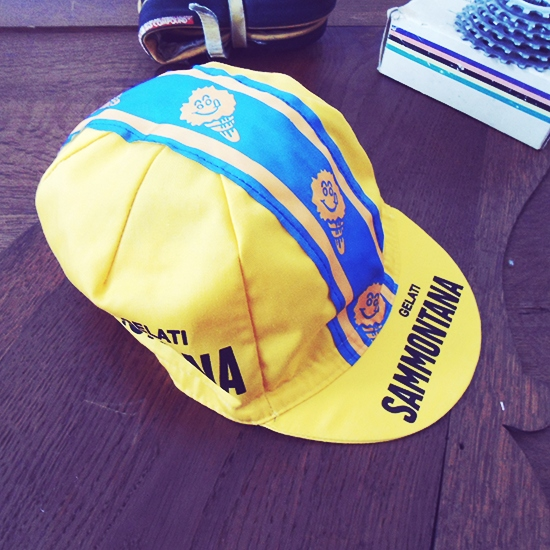 Sammontana team cycling cap