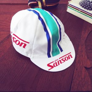 Sanson gelati casquette cycliste Moser De Vlaeminck