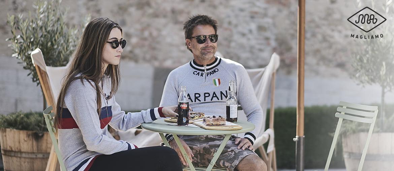 Carpano track tops ciclismo maglione
