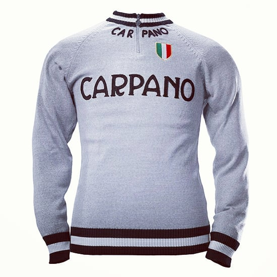 Carpano Merino Wool track top