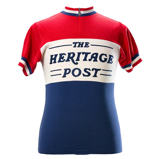 The Heritage Post cycling jersey